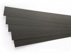 Exel black carbon fiber laminate 0.70x45 mm CU1 Carbon OSG - sold in meters min.10 m