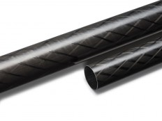 Crosslite™ Carbon fibre tube 22/19.5 mm, L200 cm